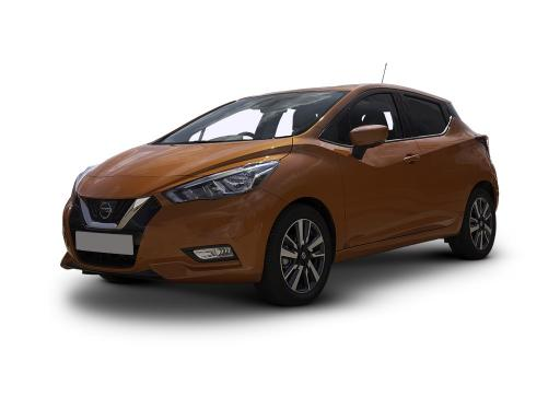 Nissan MICRA HATCHBACK 1.0 IG-T 100 Tekna 5dr [Vision+/Ext+Pk/Leather]