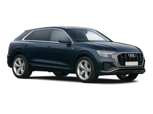 Audi Q8 ESTATE 55 TFSI Quattro S Line 5dr Tiptronic [Leather]