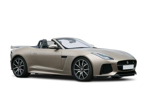 Jaguar F-TYPE CONVERTIBLE SPECIAL EDITIONS 5.0 P450 S/C V8 First Edition 2dr Auto AWD