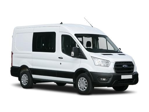 Ford TRANSIT 350 L3 RWD 2.0 EcoBlue 170ps H3 Trend Double Cab Van