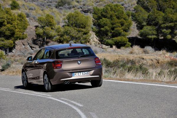 BMW 1 Series Rear View