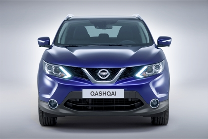Nissan Qashqai Front View