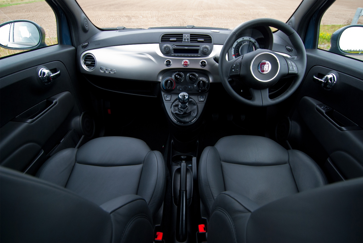 Fiat 500 Front Row