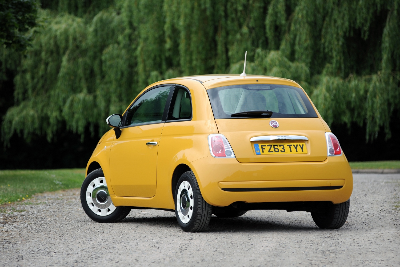 Fiat 500 Rear View