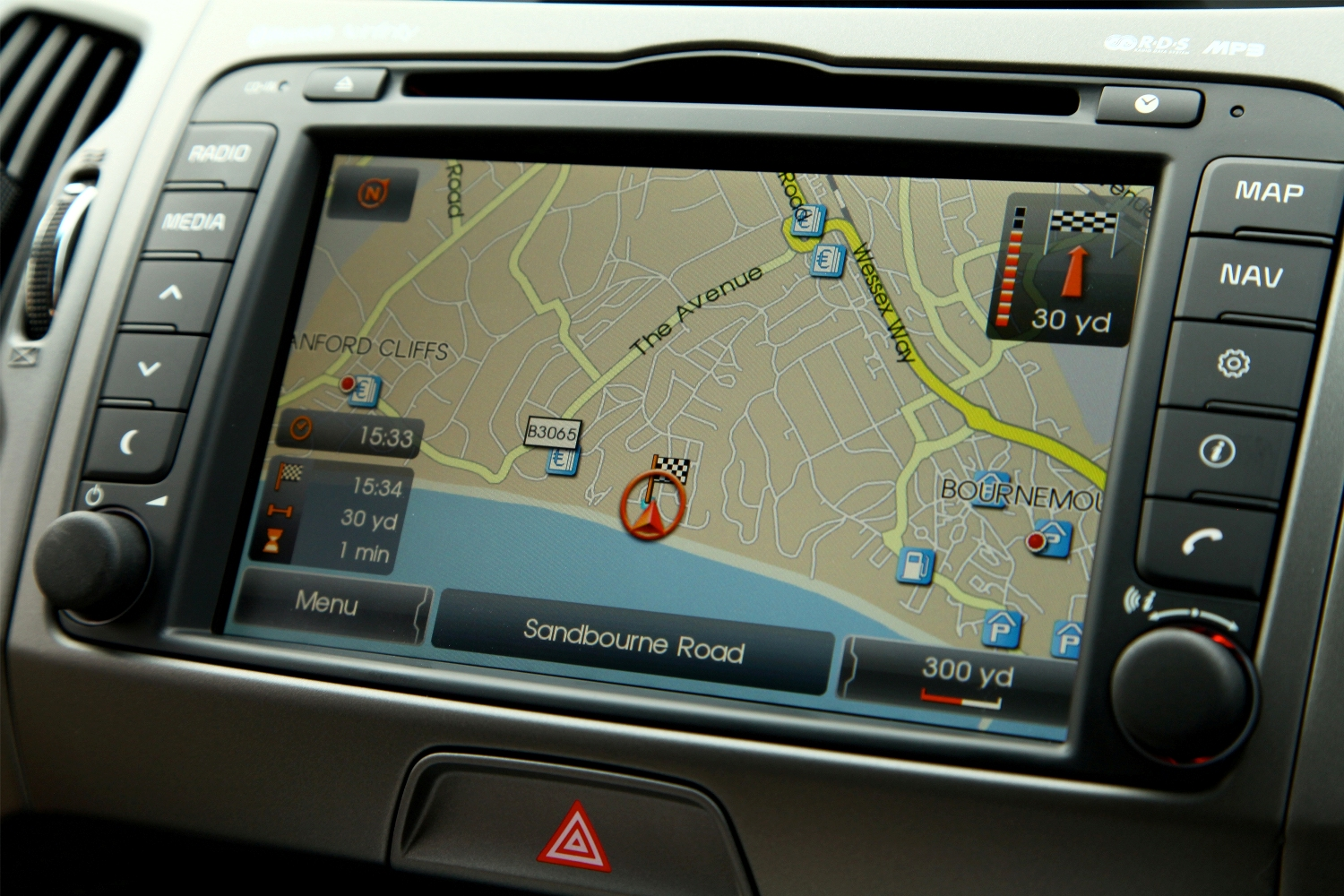 Kia Sportage 4.3 inch touch screen