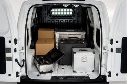 Luggage capacity in eNV200