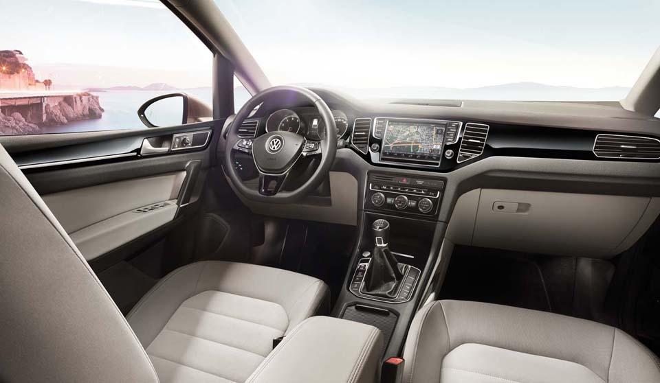 VW Golf SV Interior