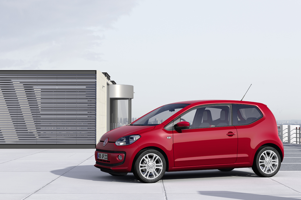 Volkswagen Up Side View