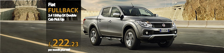 Fiat FULLBACK DIESEL 2.4 150hp SX Double Cab Pick Up