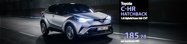Toyota CHR Hatchback 1.8 Hybrid Icon 5dr CVT
