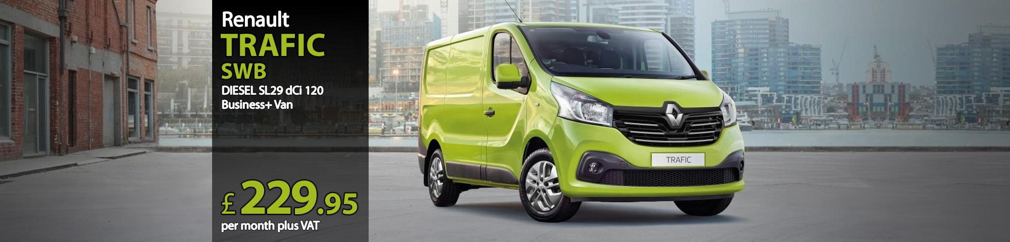 Renault TRAFIC SWB DIESEL SL29 dCi 120 Business+ Van