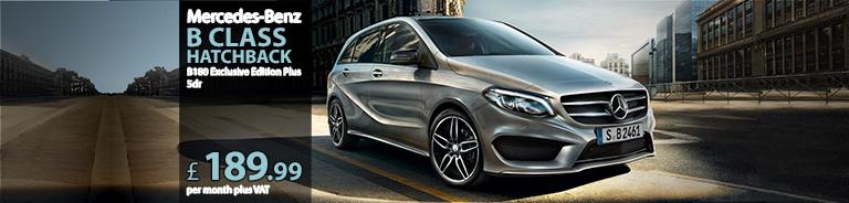 Mercedes-Benz B Class Hatchback B180 Exclusive Edition Plus 5dr