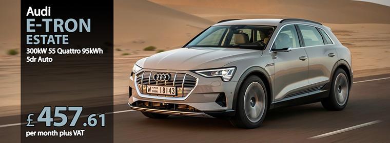Audi e-tron Estate 300kW 55 Quattro 95kWh 5dr Auto