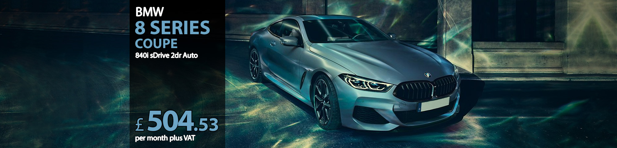 BMW 8 SERIES COUPE 840i sDrive 2dr Auto