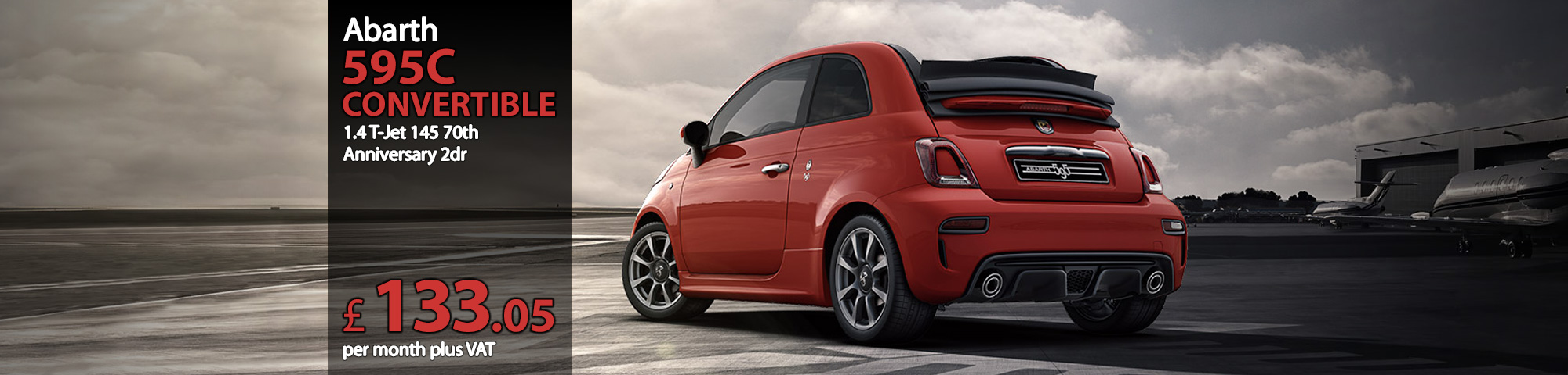 Abarth 595C Convertible 1.4 T-Jet 145 70th Anniversary 2dr