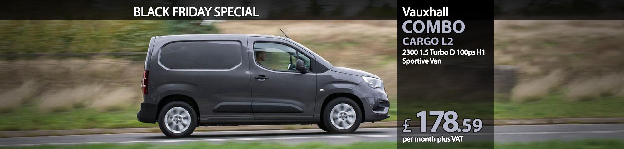 Vauxhall COMBO CARGO L2 2300 1.5 Turbo D 100ps H1 Sportive Van