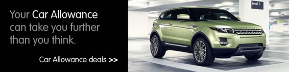 Image of a Range Rover Evoque for car allowance and car lease schemes page