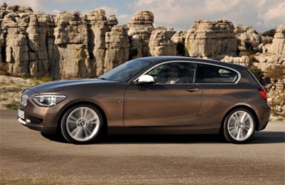 BMW 1 Series Side View