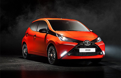 Aygo Front View